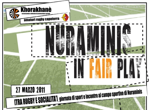 Arriva Nuraminis in Fair Play !