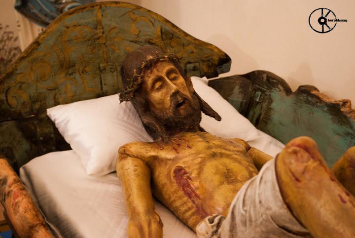 Villagreca. Crocifisso doloroso (ora deposto), chiesa parrocchiale San Vito Martire