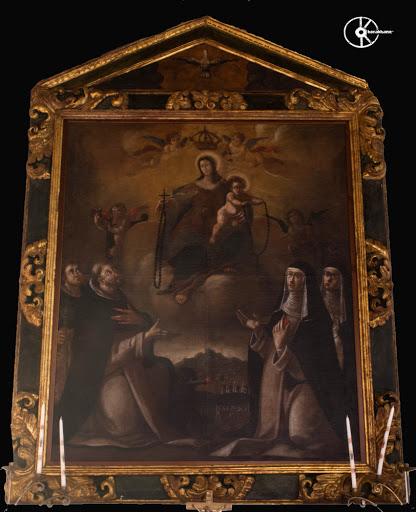 Madonna del Rosario, Oratorio della Confarternita del Rosario. Nuraminis chiesa parrocchiale