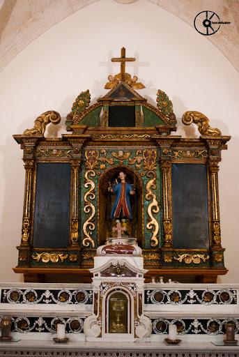 Villagreca. Retablo ligneo, chiesa parrocchiale San Vito Martire (1759)