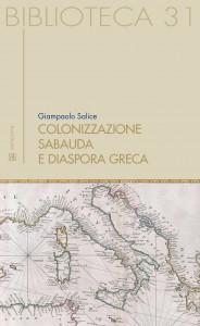 Book Cover: Colonizzazione sabauda e diaspora greca