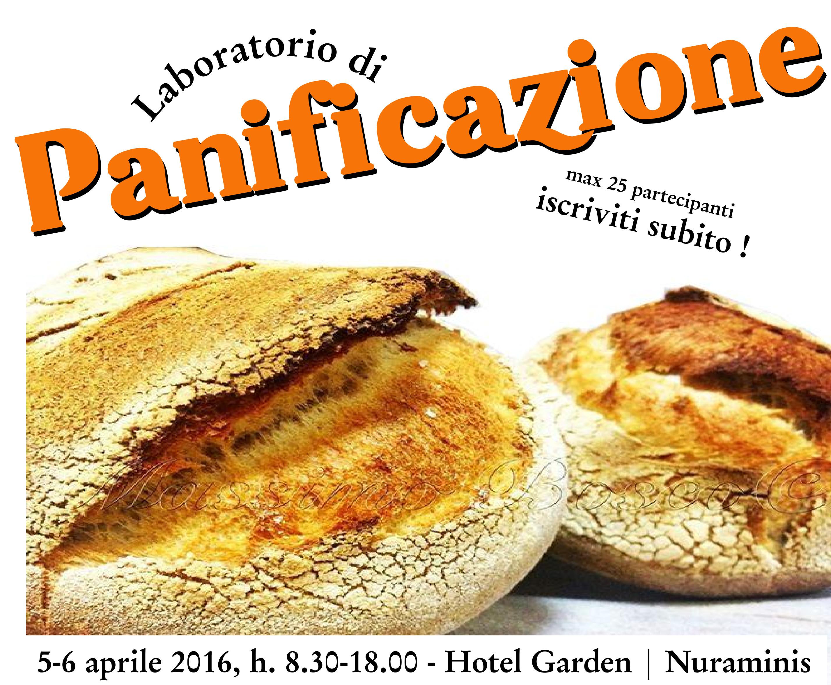 Corso di panificazione il 5 e 6 aprile a Nuraminis: aperte le iscrizioni