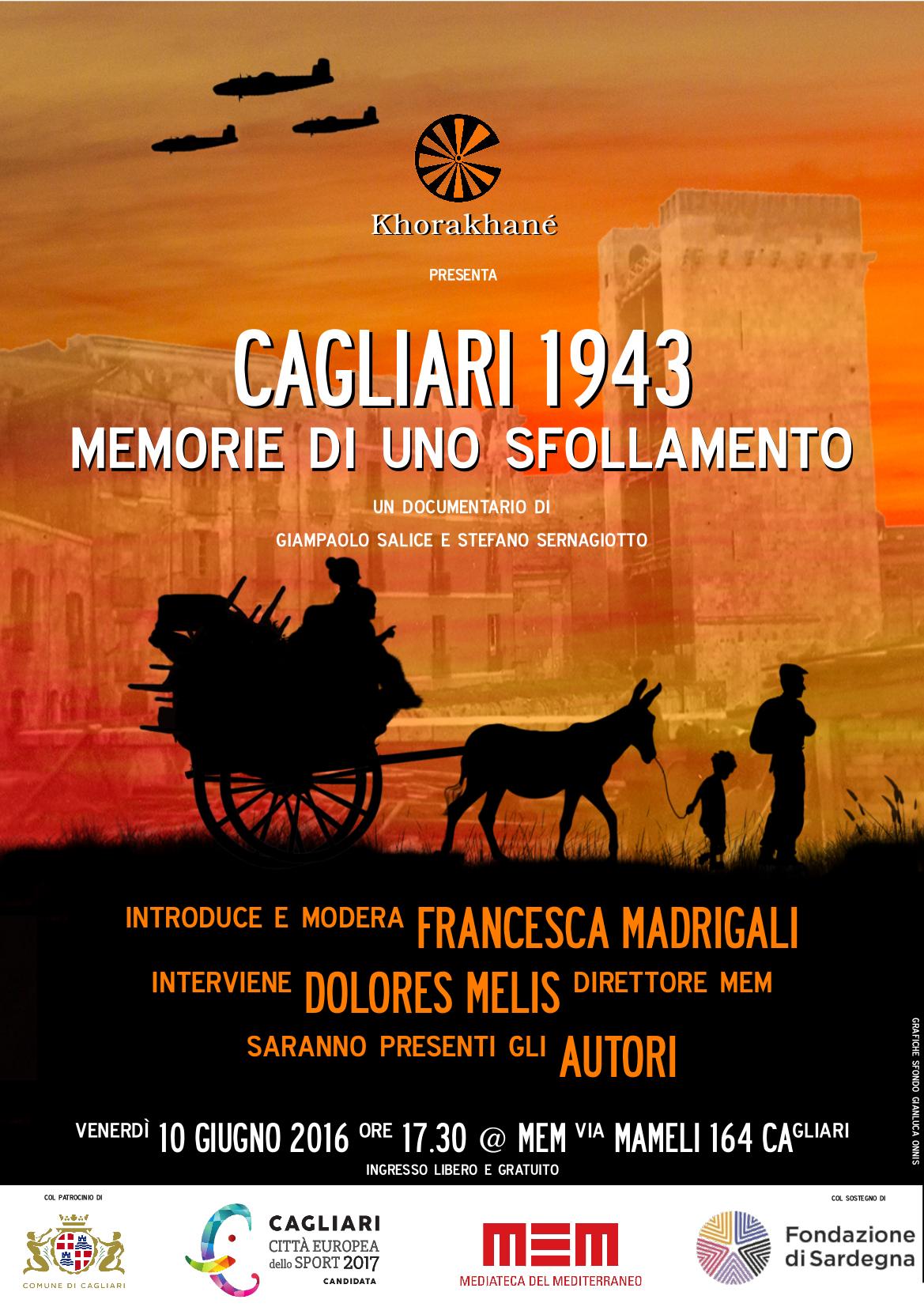 Khorakhané presenta il documentario che racconta lo sfollamento dei Cagliaritani nel 1943