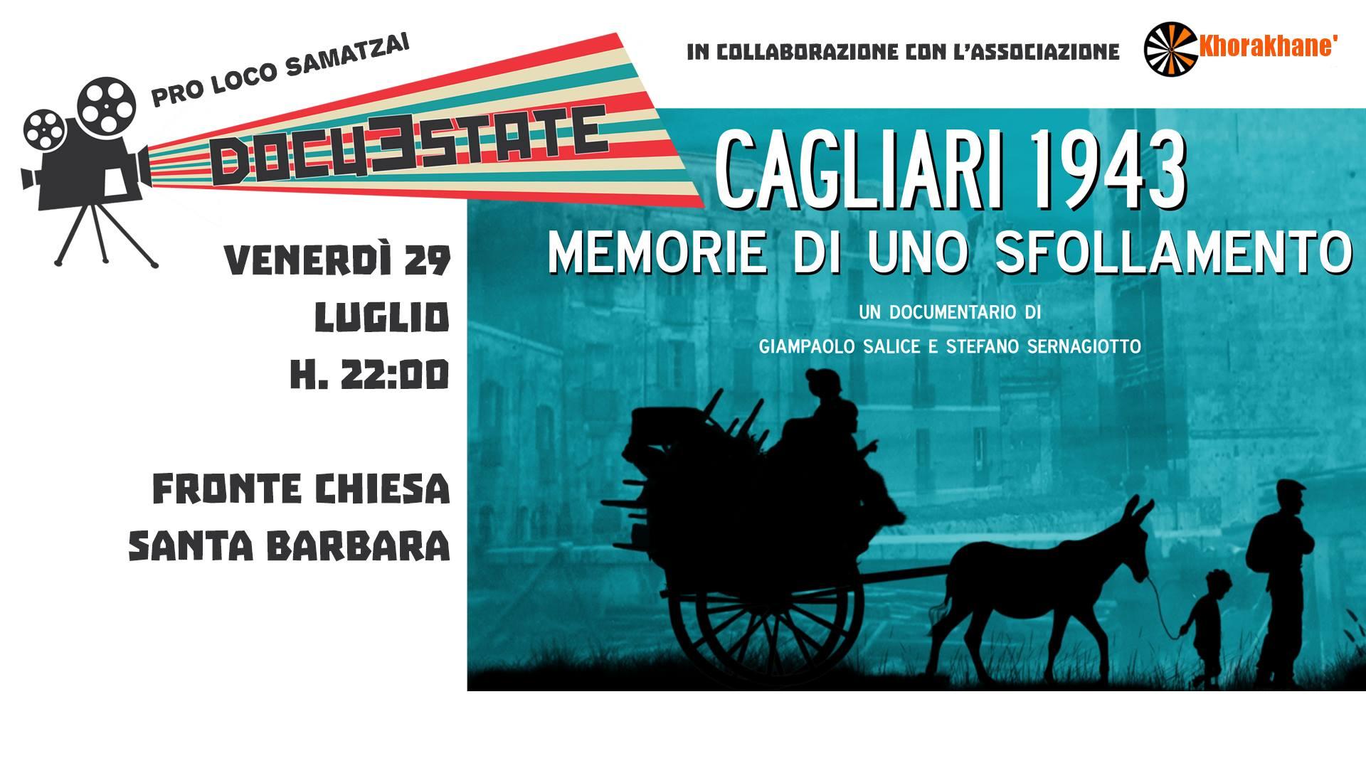 A Samatzai presentazione del documentario sullo sfollamento da Cagliari nel 1943