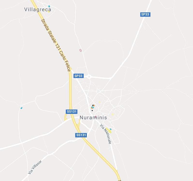 Nuraminis e Villagreca: la mappa culturale
